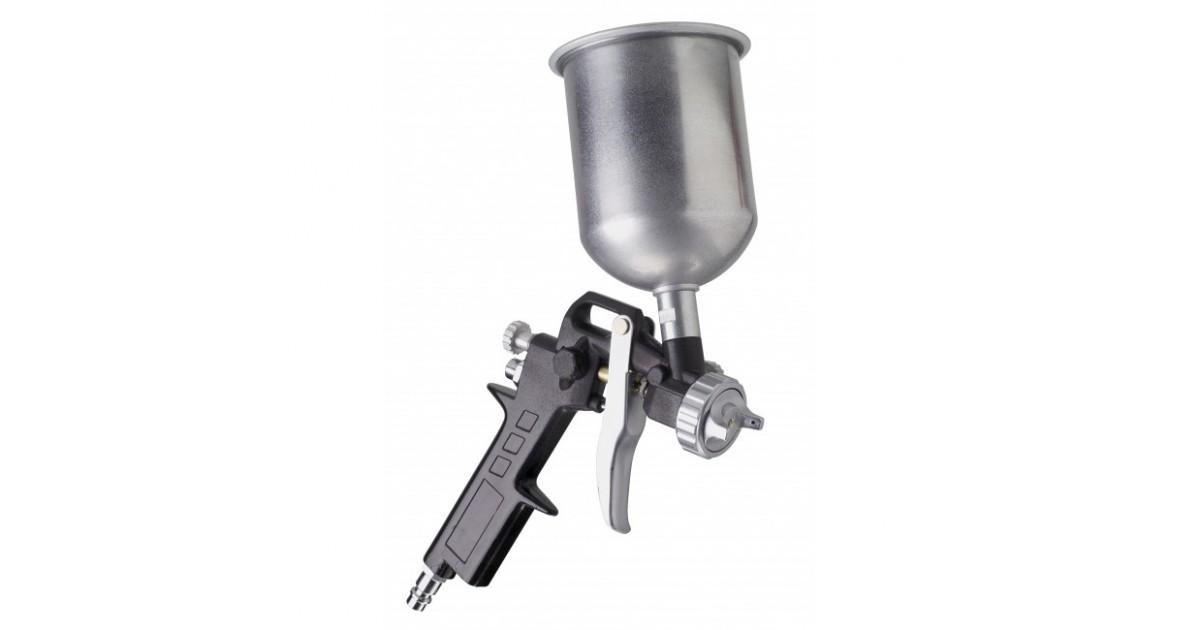 Пневматски пиштол за фарбање, горна чашка