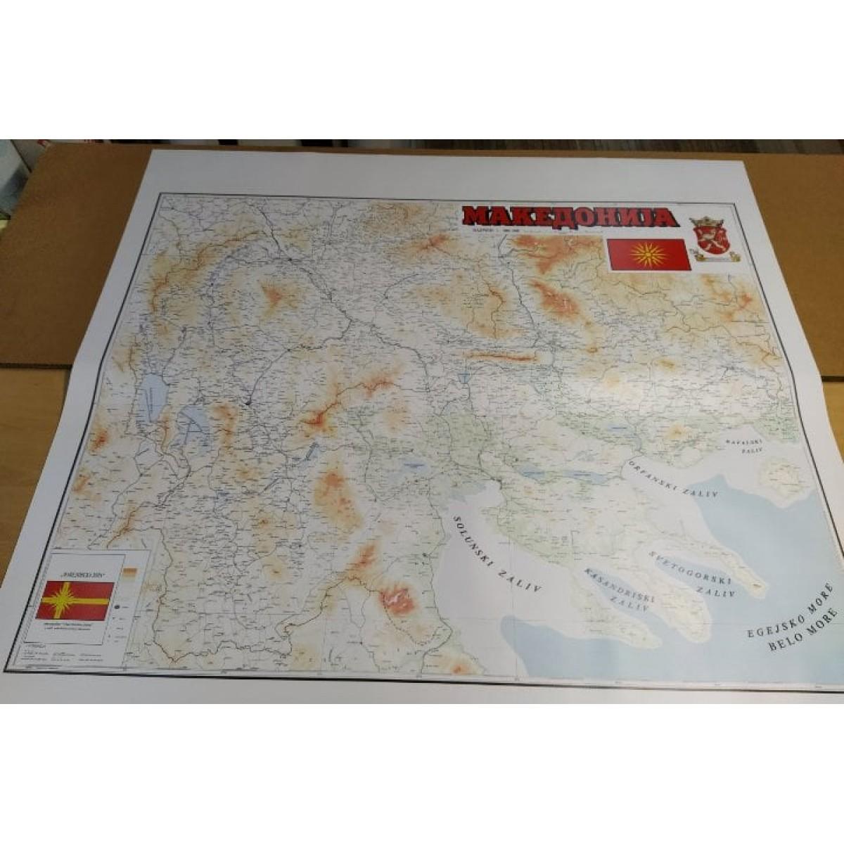 Историска мапа на Македонија
